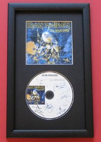 IRON MAIDEN - Live After Death CD Disc MEMORABILIA presentation